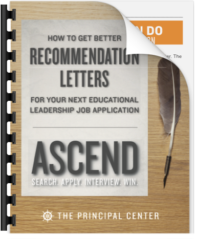 download the pdf guide how to get better recommendation letters for your next educational leadership job application